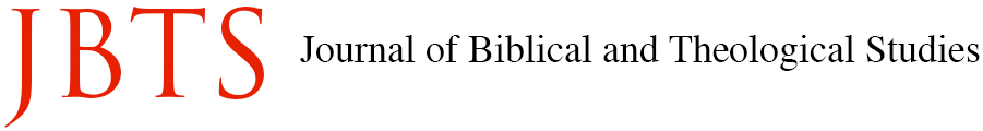 JBTS - Journal of Biblical and Theological Studies