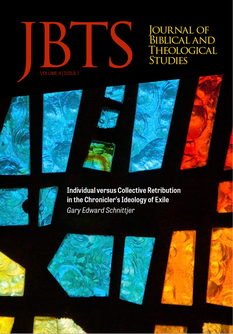 JBTS Online | Journal of Biblical and Theological Studies